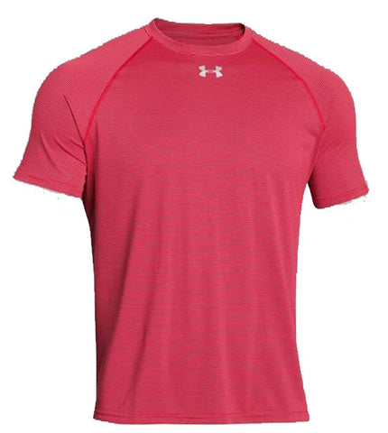 Under Armour Men's Stripe Tech Locker T Short Sleeve
