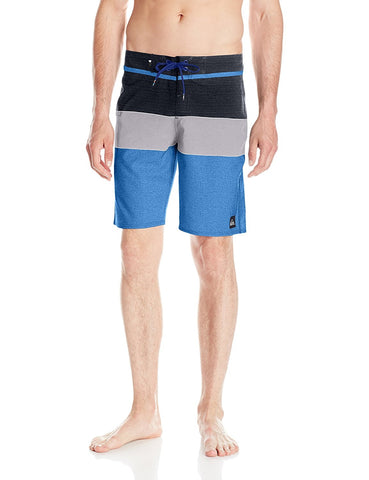 Quiksilver Men's Everyday Blocked Vee 20 Inch Boardshort Swim Trunk Shorts