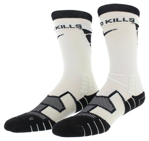 Nike Men's Elite Vapor Cushioned Football Socks