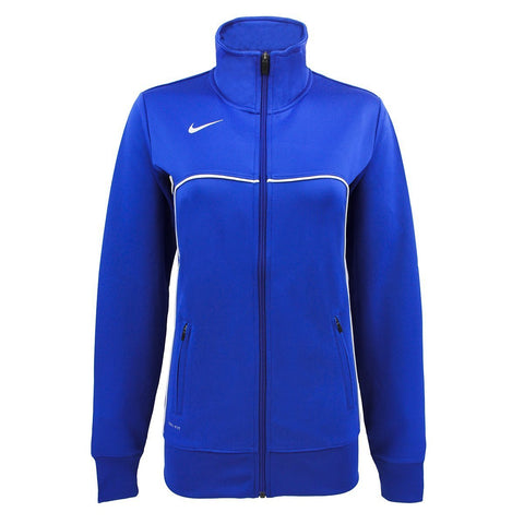 NIKE Women's Classic Knit Jacket Royal S