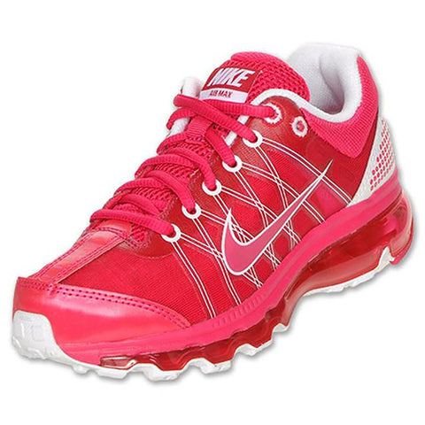 Nike Air Max 2009 (GS) Girls Running Shoes 400152-600, 4