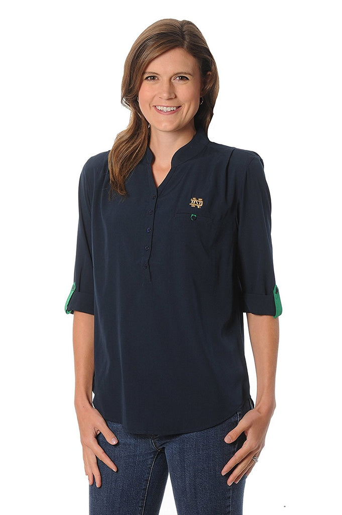 UG Apparel NCAA Women's Button Down Tunic Top