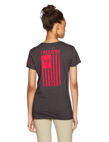 Under Armour Womens Freedom Flag T 2.0