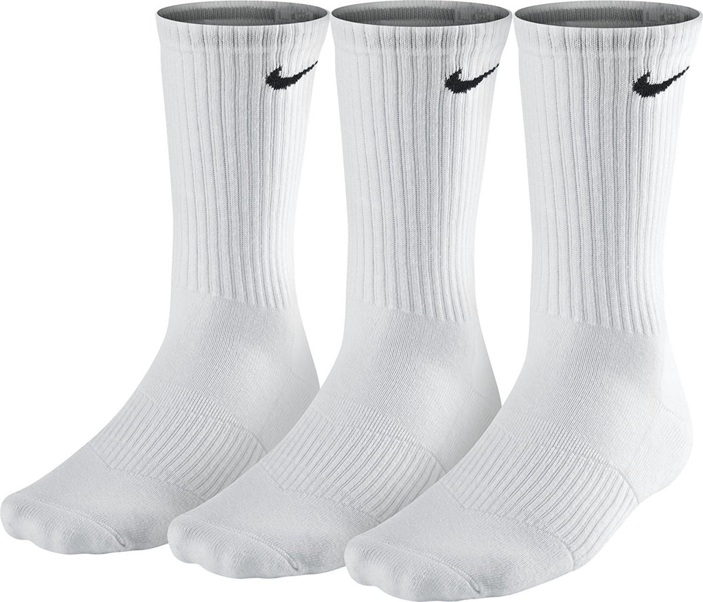 Nike Men's Performance Cushion Crew Training Socks (3 Pairs)