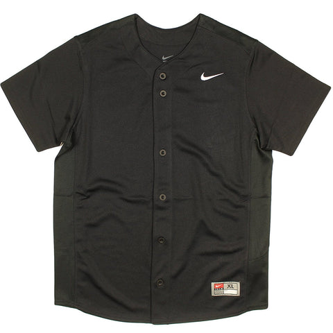 Nike Youth Full-Button Vapor Baseball Jersey