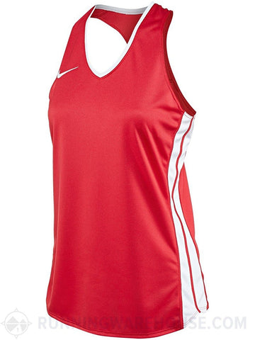 Nike Women's Anchor Singlet Tank Top 642089 Dri-Fit Sleeveless Semi-Fit Shirt