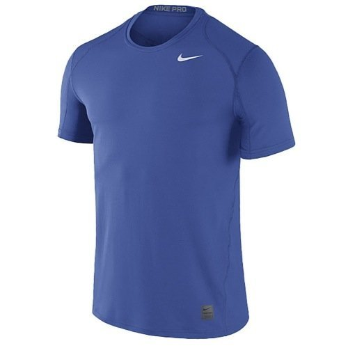 Nike Men's Team Pro Cool Fitted Top (XX-Large, Team Game Royal/White)