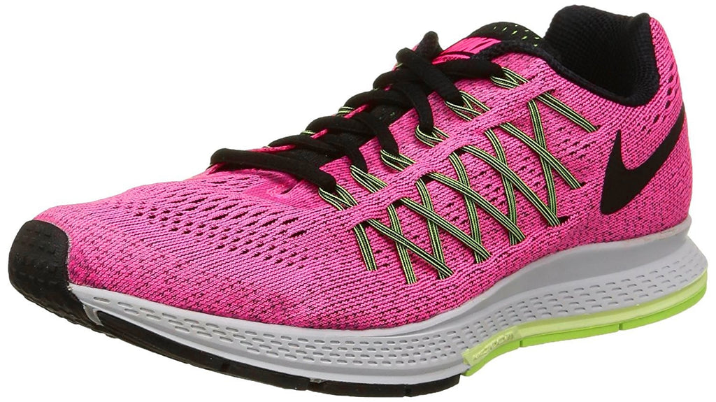 Nike Women's Air Zoom Pegasus 32 Running Shoe-Pink Power/Black/Volt-9