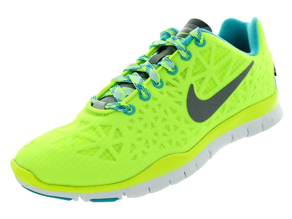 Nike Women's Free TR Fit 3 All Conditions Volt/Gamma Blue/Teal Tint/Reflect Silver 11.5 B(M) US