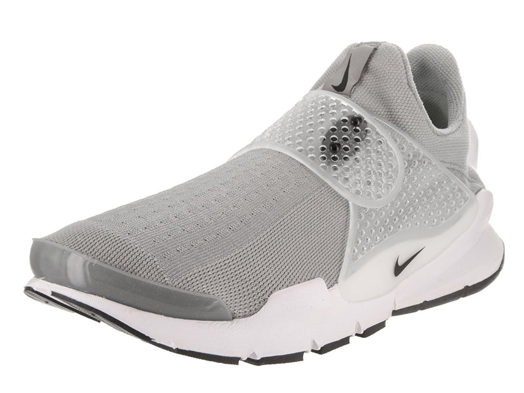 Nike Mens Sock Dart Running Shoes Medium Grey/Black/White 819686-002 Size 11