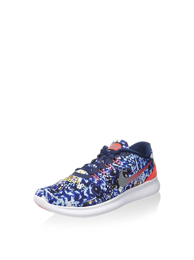 Nike Men's Free RN RF E, JUNGLE PACK-MID NAVY/REFLECTIVE SILVER-SUMMIT WHITE-BRIGHT, 11 M US