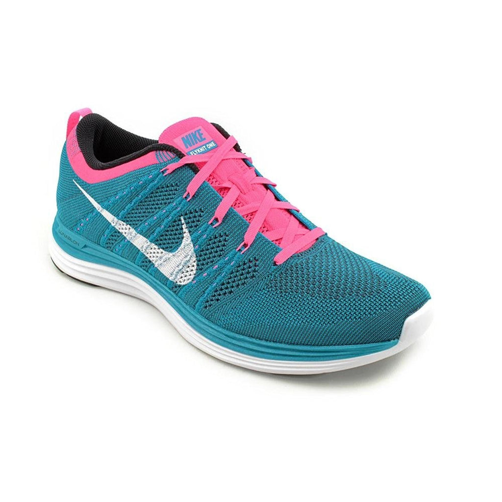 Nike Men's Flyknit One, NEO TURQUOISE/WHITE-SQAUDRON BLUE-PINK FLASH, 10.5 M US