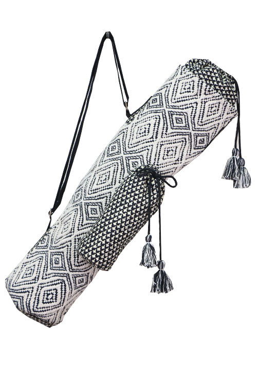 Diamond Pattern Yoga Mat Bag