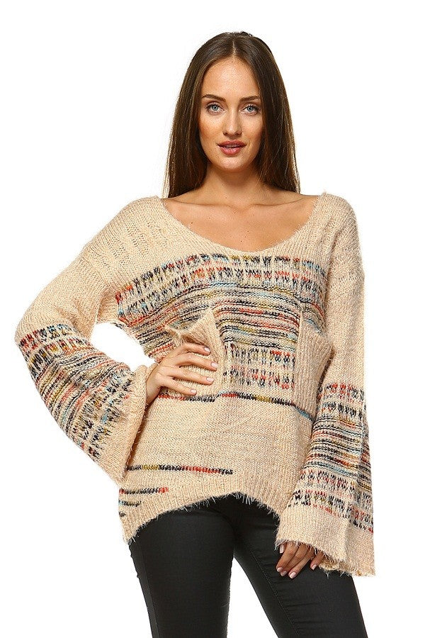Plush Furry Pullover Sweater