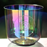 Divine Focus ⋆ Aqua Aura Crystal Bowl ⋆ Lightcode Alchemy