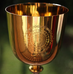 Divine Empowerment ⋆ 24K Gold Crystal Chalice ⋆ Ignite Your Purpose ⋆ Keycode Alchemy
