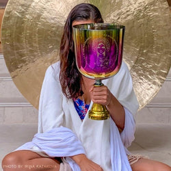 Mary Magdalene ⋆ Crystal Goddess Grail Singing Bowl