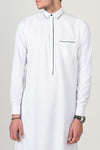 Al Faizan- Business Standard White w/ Black