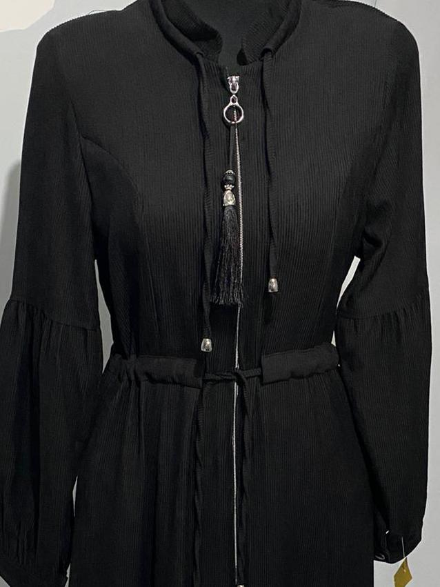 Corduroy Abaya Dress