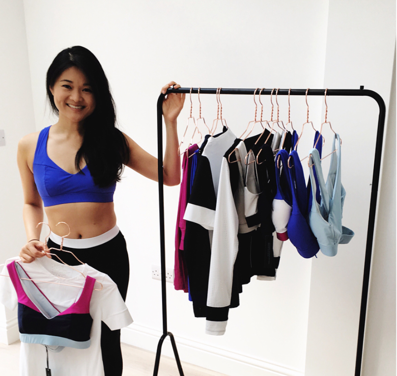 An interview with sustainable activewear brand Adrenna founder Julie Ngov
