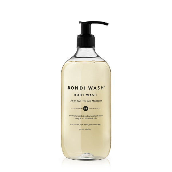Botanical derived body wash