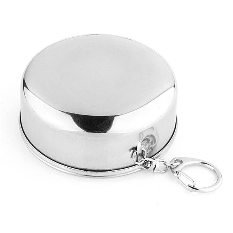 Stainless Steel Collapsible Travel Cup