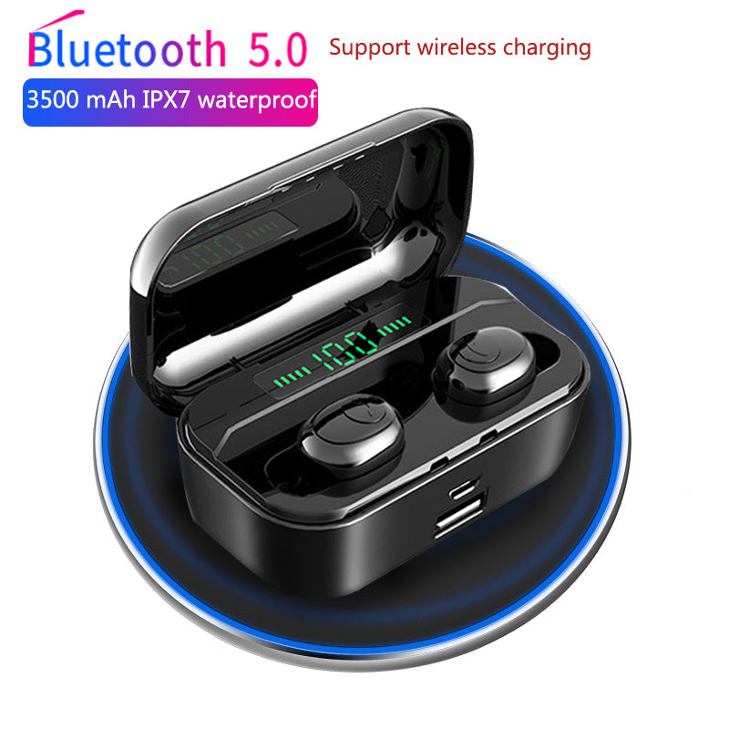 3500mAh Noise-canceling Wireless Earbuds