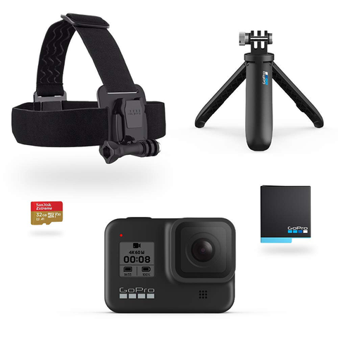 GoPro HERO8 Black Holiday Bundle 假日套裝
