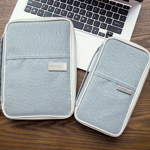 Family Passport and Boarding Pass Wallet