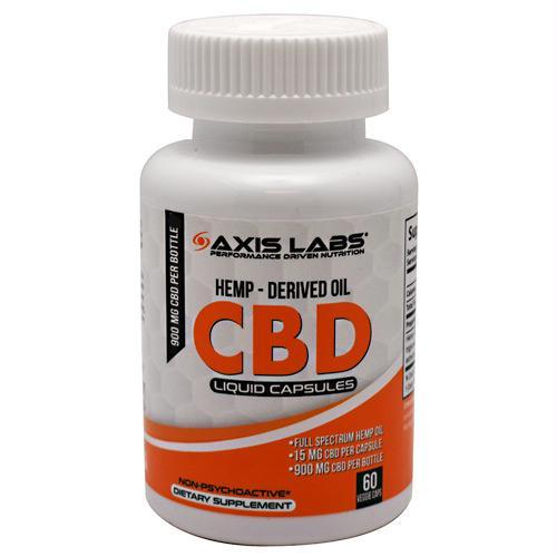 Axis Labs CBD Liquid Capsules