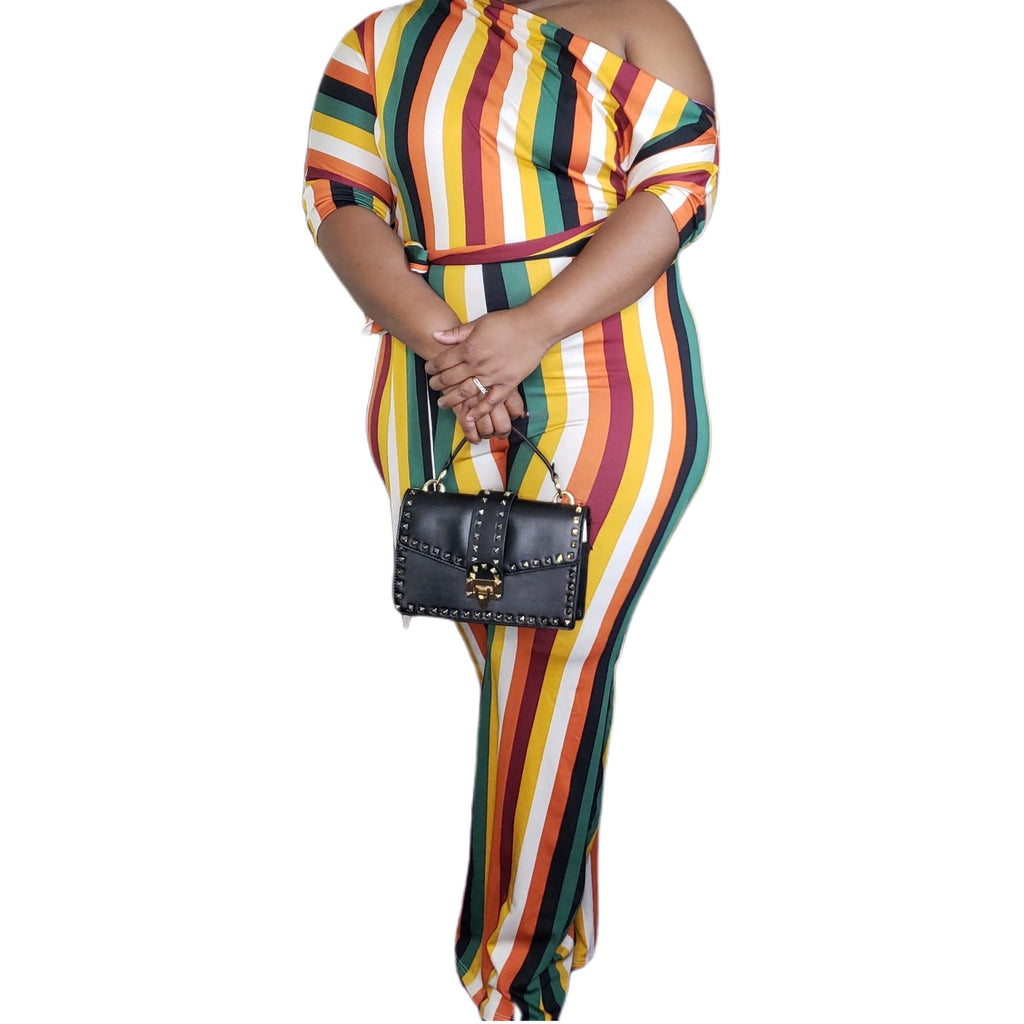 Giselle Striped Jumpsuit