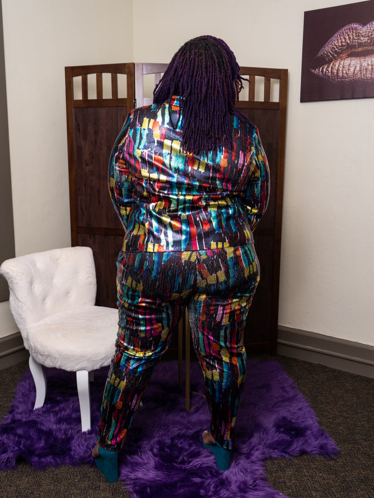 Showstopper Sequin Suit