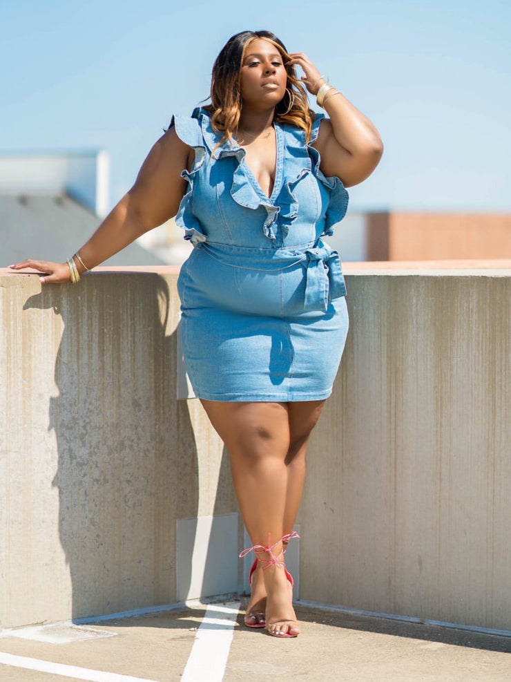 Deb Denim Dress