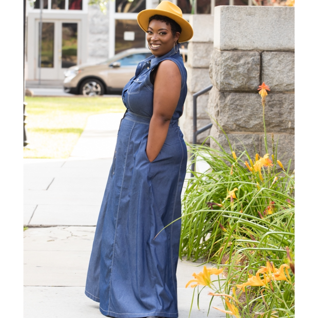 Diane Denim Maxi