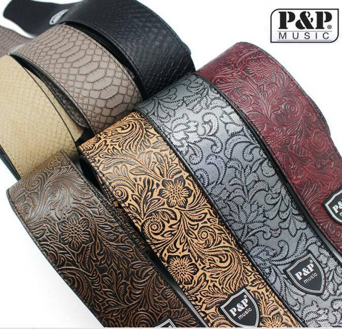 Delux Leather Guitar Strap