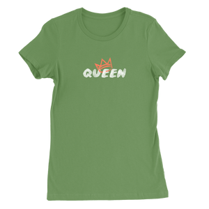 Queen Crown Collection (Leaf Short Sleeve T-Shirt Coral Crown)