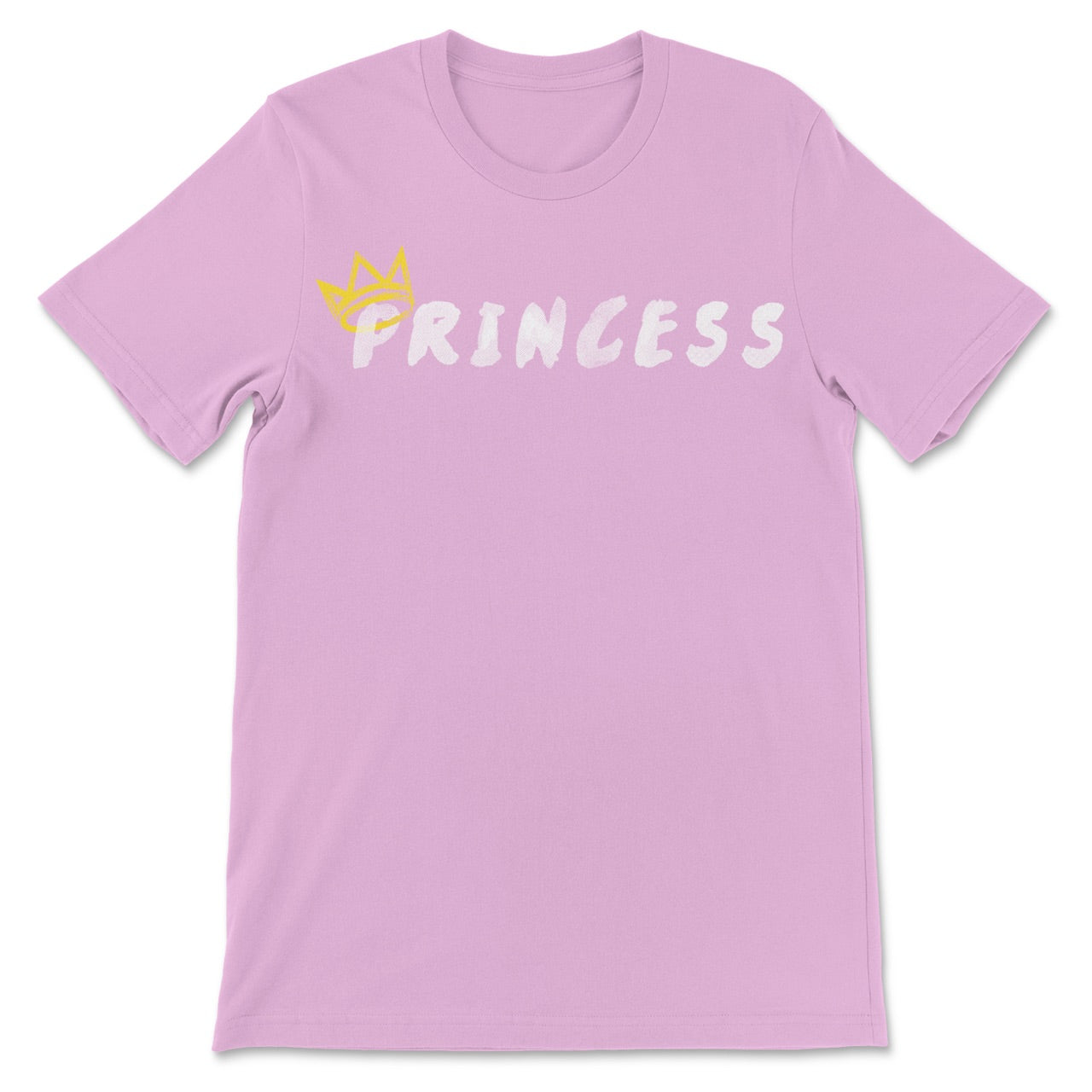 Princess Short Sleeve T-Shirt (Gold Crown)