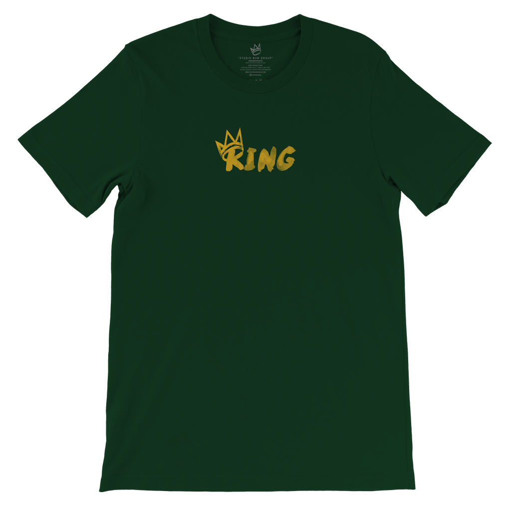 Crown Collection King T-Shirt (CC S2 Gold Print)