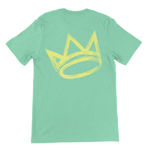 King Crown Collection (Mint Short Sleeve T-Shirt Gold Crown)