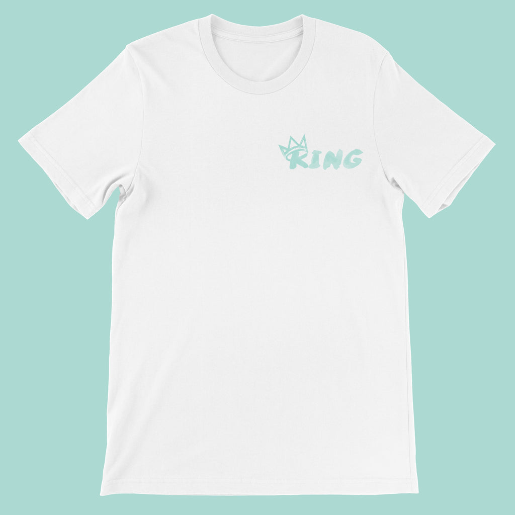 King Crown Collection (White Short Sleeve T-Shirt Mint Crown)