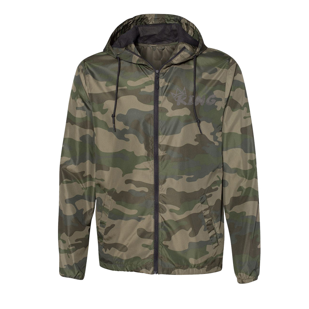 King Camo Windbreaker (Reflective)