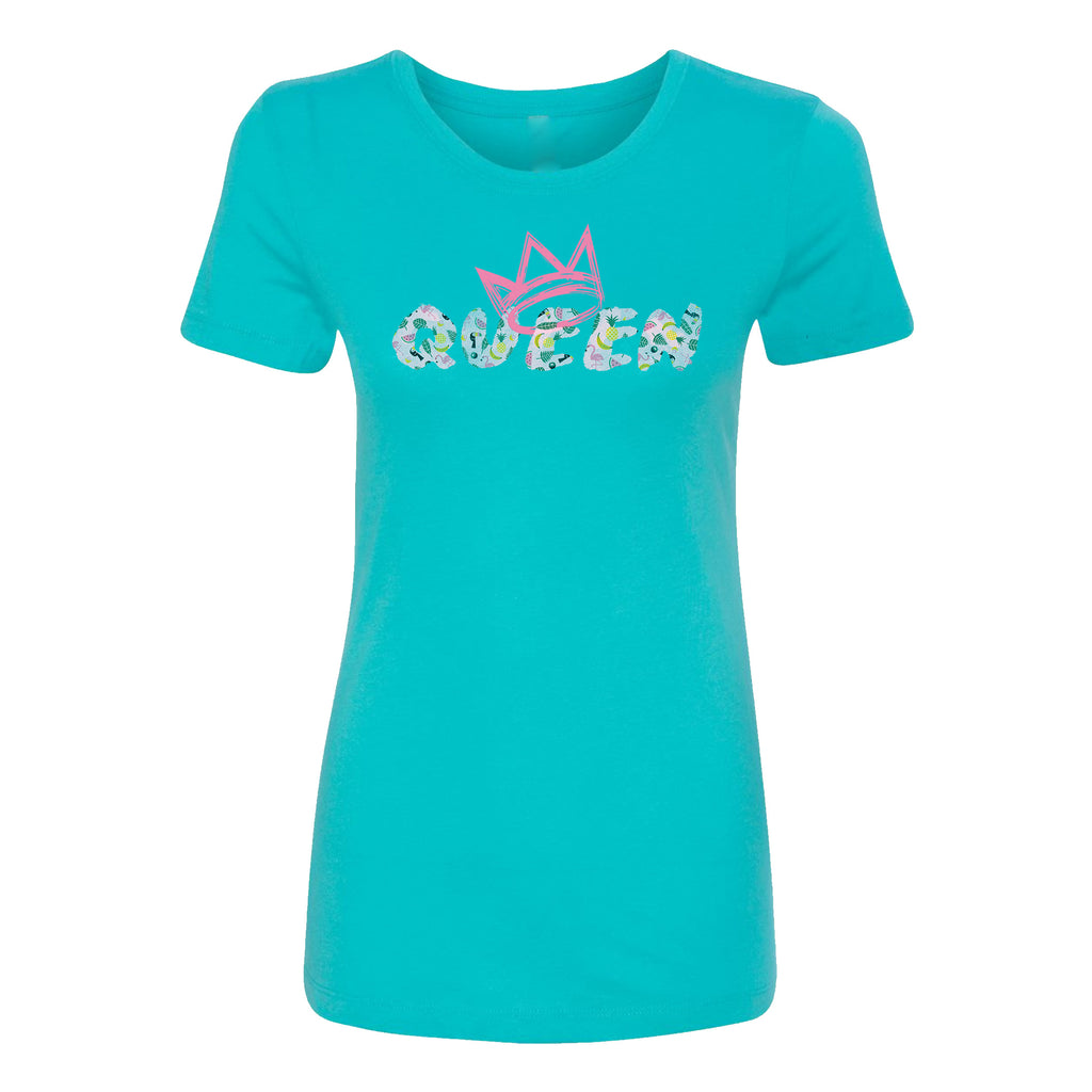 Queen Summer Vacay Print T-Shirt