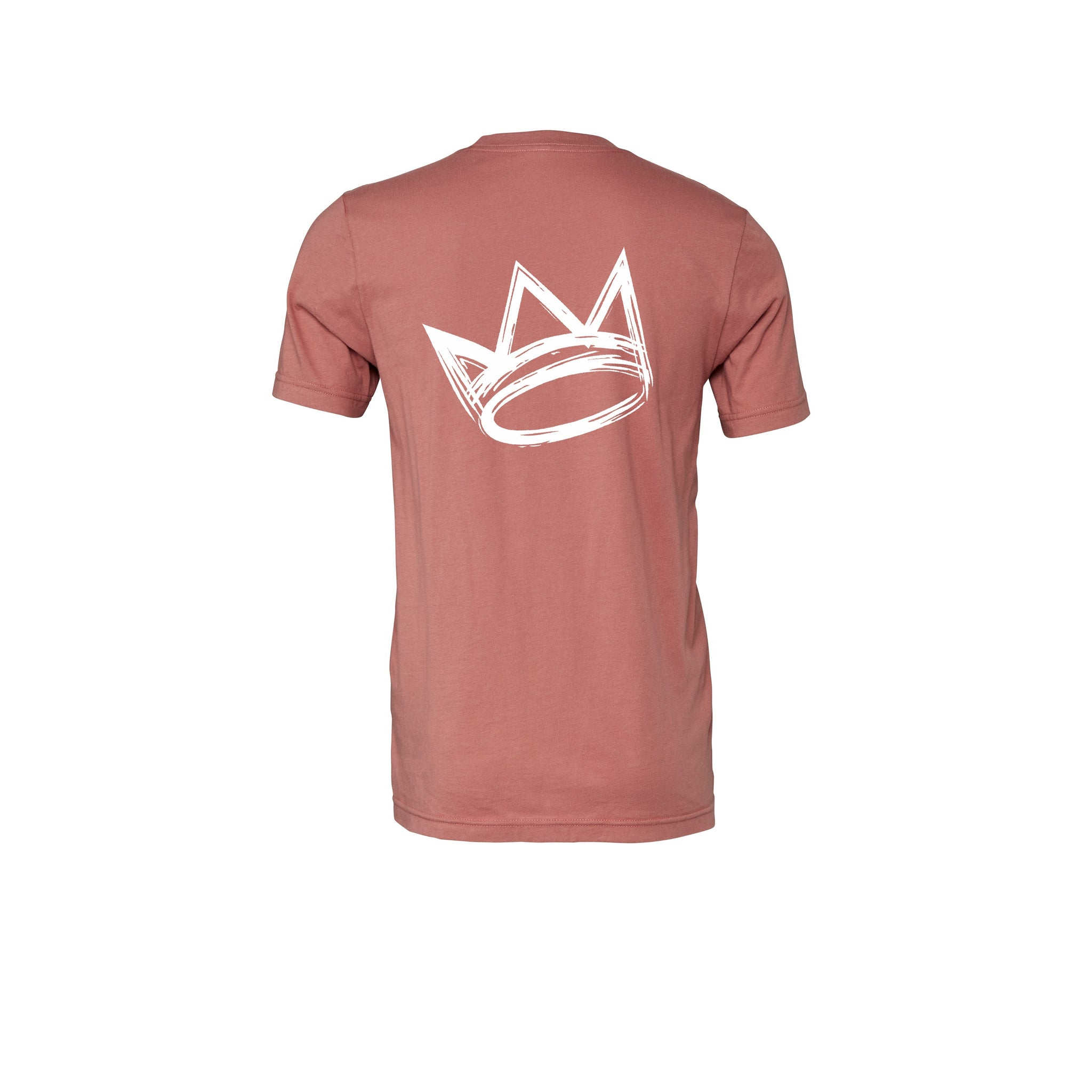 King Crown Collection (Mauve Short Sleeve T-Shirt White Crown)