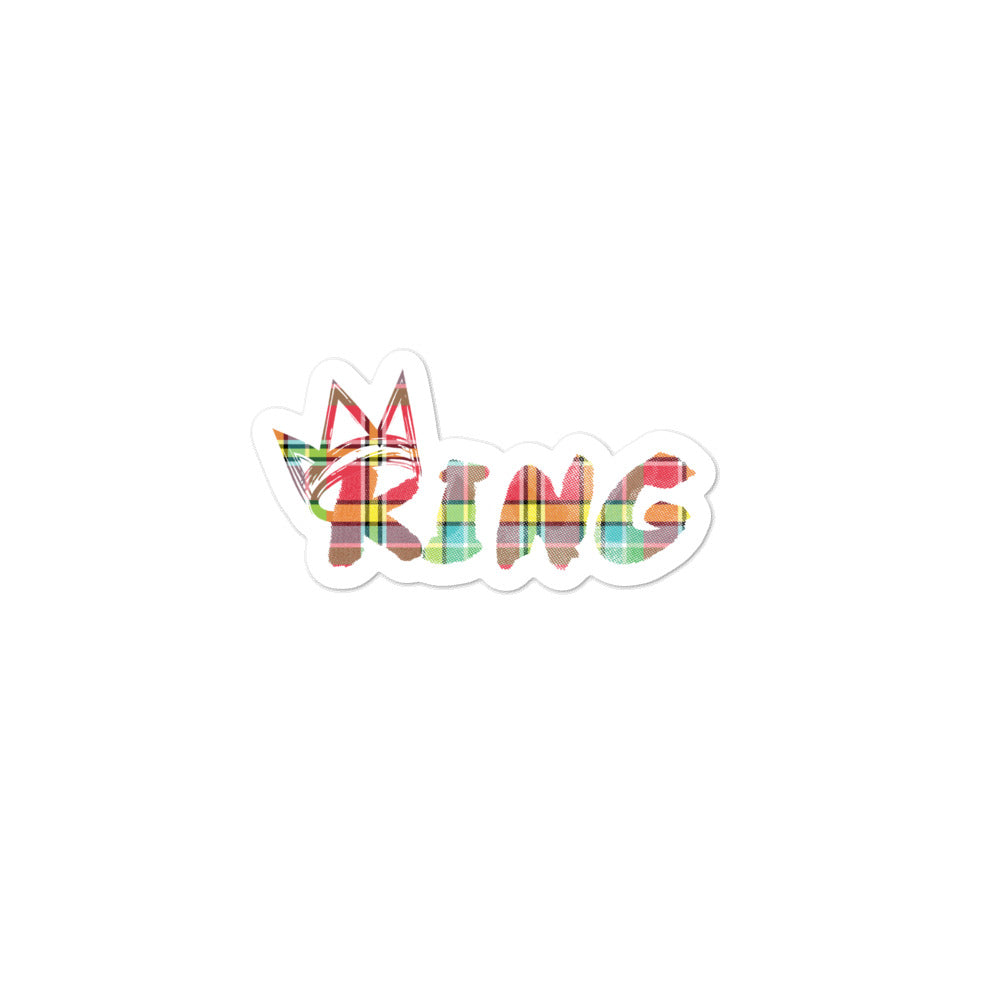 King Madras Sticker