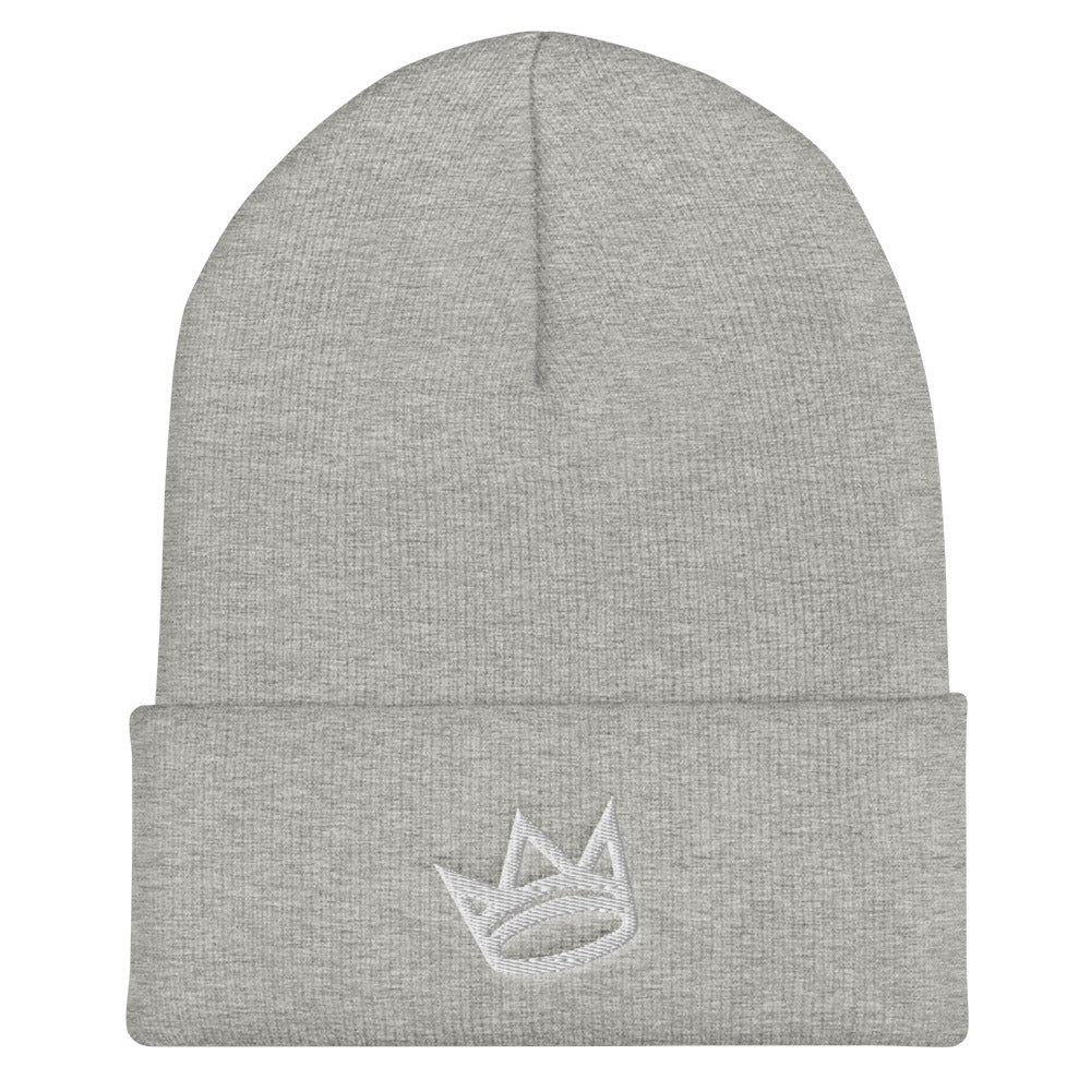 Crown Cuffed Beanie
