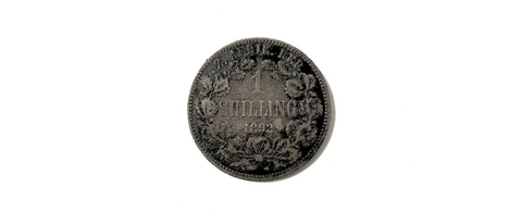Greyburne's Boon Coin, South African Shilling