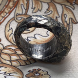 Rough dwarven signet ring with runes 01