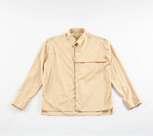 FILM WEAR LONG SLEEVE SHIRT - BEIGE store