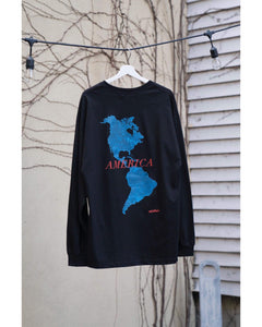 """AMERICA"" Long Sleeve T-shirts"