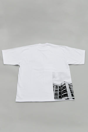 "#002 ""Wall"" T-SHIRT WHITE"